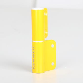 2-Rollen-Kantenband links gelb