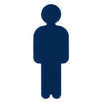 Türsymbol aus Nylon Herren | dunkelblau