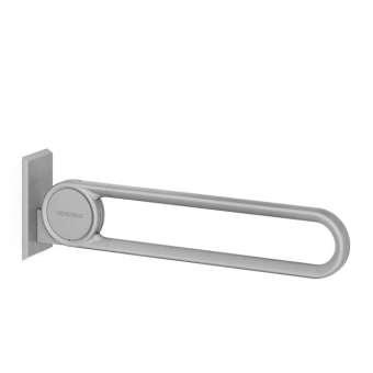 Cavere® Stützklappgriff vario Silber | 600mm