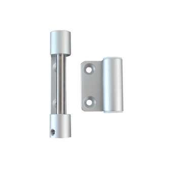 3-Rollen-Kantenband ohne Feder Aluminium eloxiert
