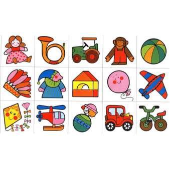 Erkennungsbilder Spielzeug