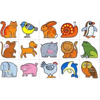 Erkennungsbilder Tiere