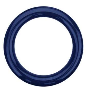 Sicherheitsringgriff aus Nylon in bunten Farben dunkelblau | 30mm