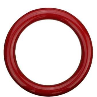 Sicherheitsringgriff aus Nylon in bunten Farben rot | 13mm
