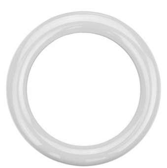 Sicherheitsringgriff aus Nylon in bunten Farben weiß | 13mm