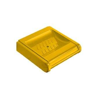Seifenschale 3306 aus Nylon gelb