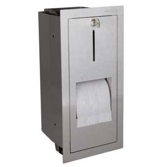Papierrollenhalter für 2 Rollen saniApp Unterputz