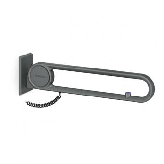 Cavere® Stützklappgriff vario mit E-Taster Weiß | 850mm