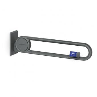 Cavere® Stützklappgriff vario mit Funksender Weiß | 725mm