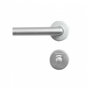 L-Drücker-Garnitur aus Aluminium Für 30mm Türstärke