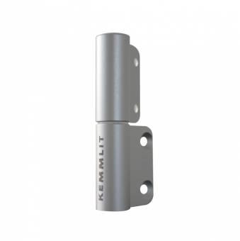 2-Rollen-Kantenband links Aluminium eloxiert