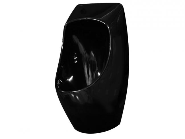 Urinal Urimat Ceramic Bunt schwarz glänzend