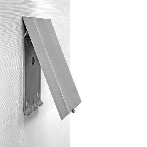 Cavere® Grundplatte mit Blindabdeckung vario silber