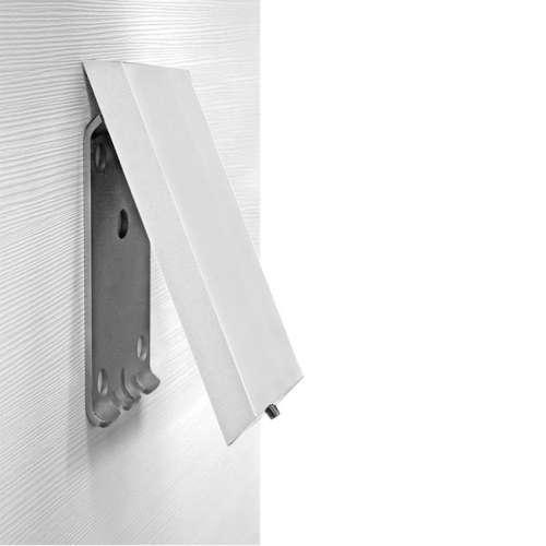 Cavere® Grundplatte mit Blindabdeckung vario weiß