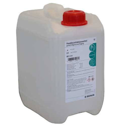 B. Braun Händedesinfektion 5 Liter Kanister Viruzid