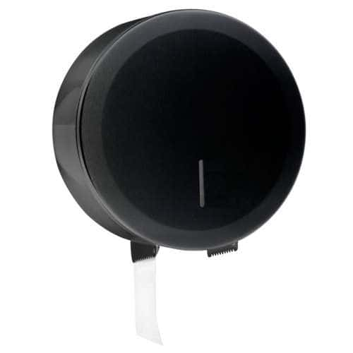 Großrollenhalter Compact Schwarz