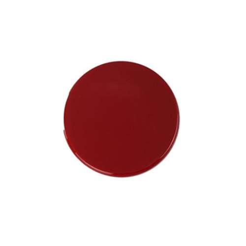 Rosette für Türknopfgarnitur aus Nylon 10er Pack Knauf rot