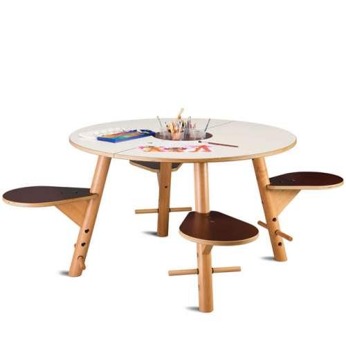 Spieltisch Tavi Weiß
