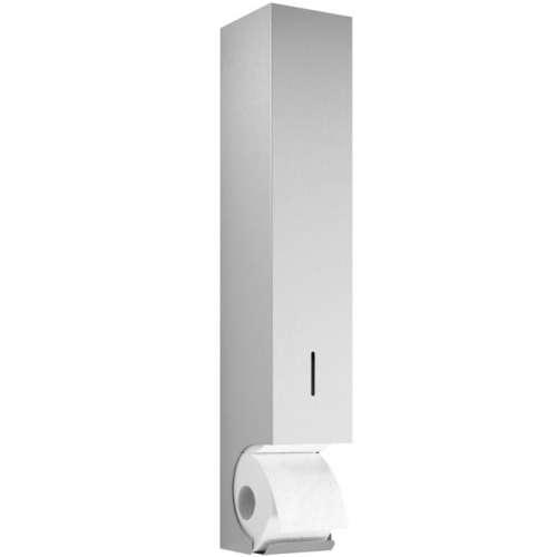 Toilettenpapier-Ersatzrollen-Spender Edelstahl für 5 Rollen