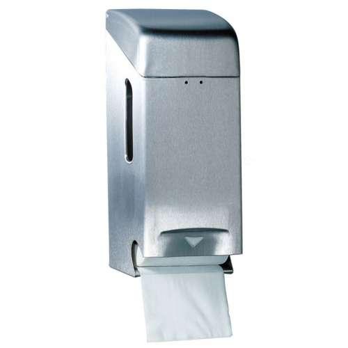 Papierrollenhalter Basic für 3 Rollen Edelstahl gebürstet