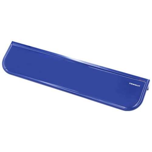 Ablagekonsole in bunten Farben blau