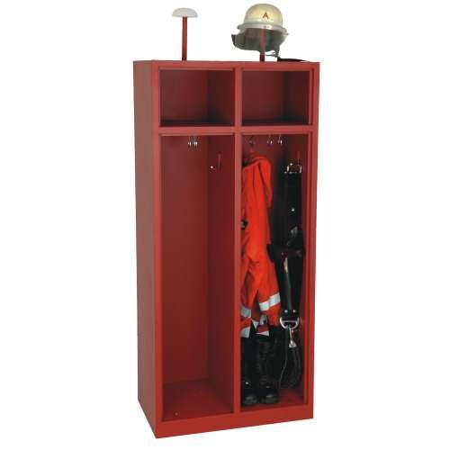2-Fach Feuerwehrschrank Fresta ohne Türen