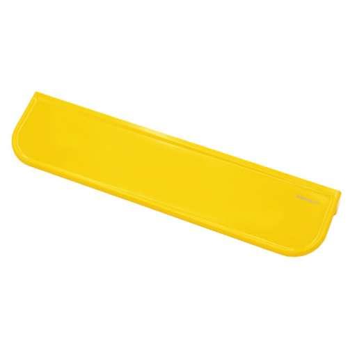 Ablagekonsole in bunten Farben gelb