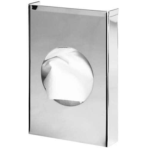 Hygienebeutelspender Basic Edelstahl glänzend