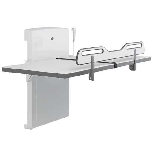Duschliege SCT 4000, elektrisch höhenverstellbar manuell hochklappbar