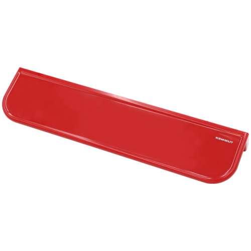 Ablagekonsole in bunten Farben rot