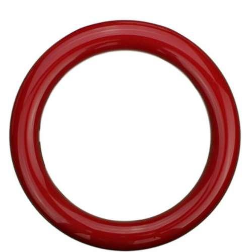 Sicherheitsringgriff aus Nylon in bunten Farben rot | 30mm