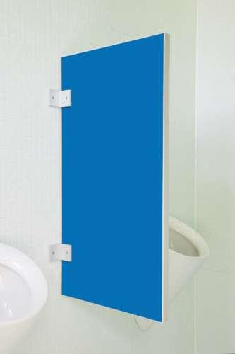 Standard Urinaltrennwand Vittoria in bunten Farben Pazifikblau