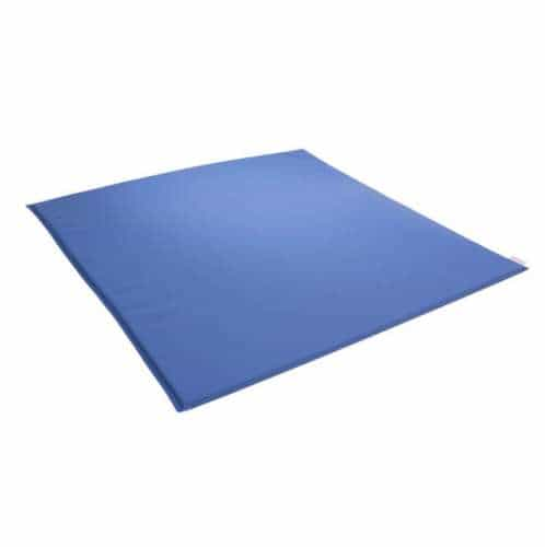 Farbige Wickelauflage blau