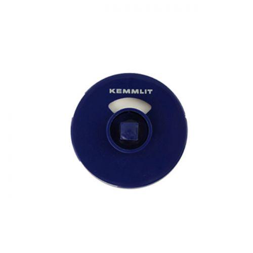 Rosette / Knauf-Deckel für Türknopfgarnitur aus Nylon 10er Pack Rosette dunkelblau
