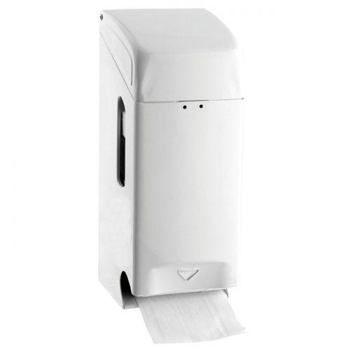 Papierrollenhalter Basic für 3 Rollen Weiß