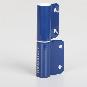 2-Rollen-Kantenband rechts, Farbe: blau