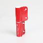 2-Rollen-Kantenband links, Farbe: rot