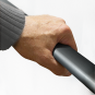 Cavere® Winkelgriff 131 rechts Anthrazit | 350x316mm